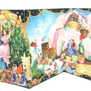 Hallmark Christmas Advent Calendar vtg Nutcracker